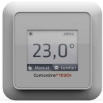 Сенсорный программируемый терморегулятор OCD5-1999 - Oj Electronics