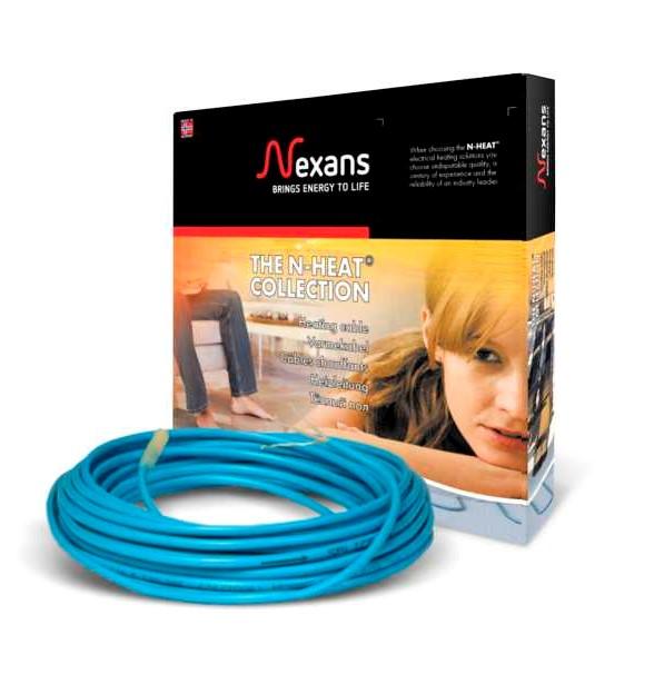 нагрівальний кабель теплої підлоги Nexans