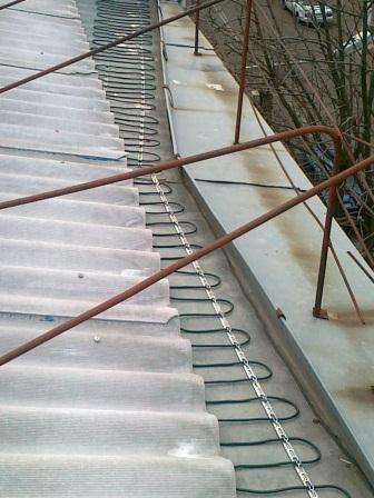 саморегулирующийся кабель для обогрева кровли и водостоков